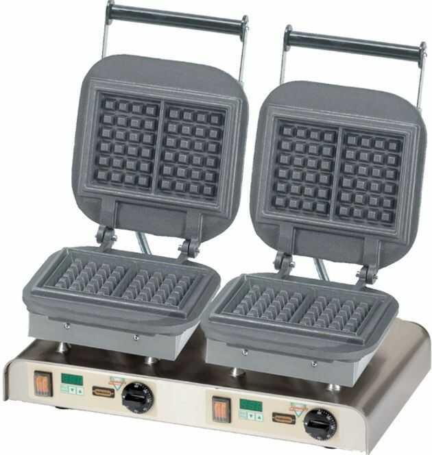 Gofrownica podwójna Lorraine Waffle 400V / 4,4kW