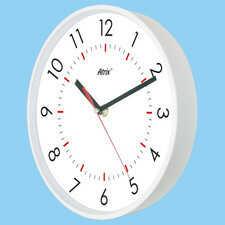 Zegar biały sterowany radiowo #3
