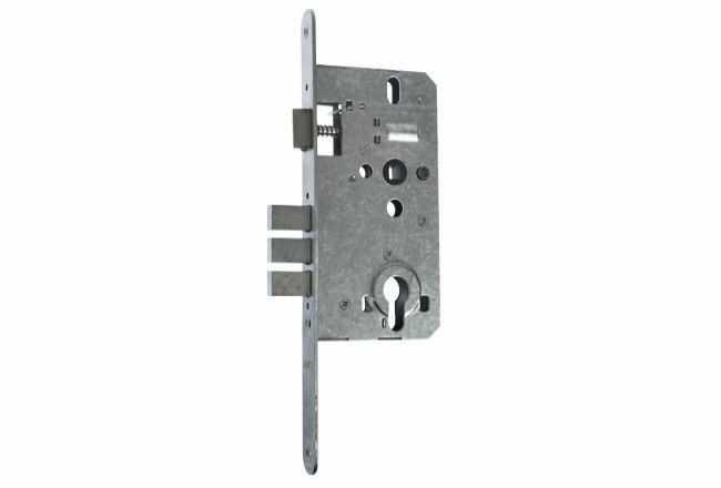 Zamek drzwiowy ZTO 72/55 WB ocynk biały do drzwi KMT