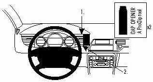 ProClip do Citroen C5 III 08-17