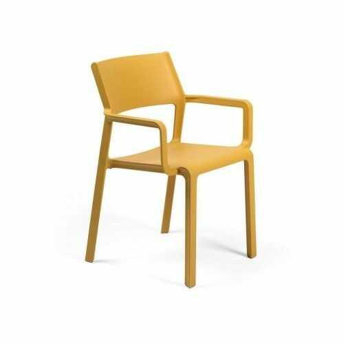 Nardi Krzesło Trill żółte