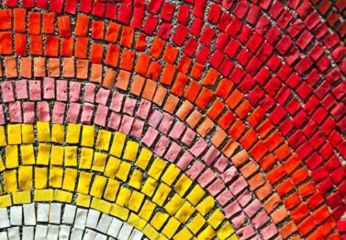 Tape Design Z129 zerbello, poliester, wielokolorowy, 52 x 75 x 1 cm