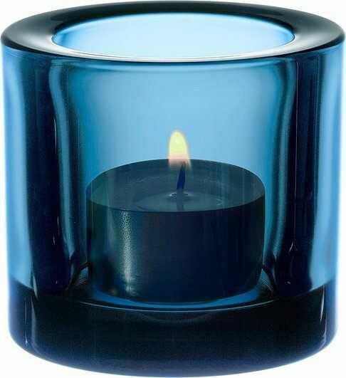 Świecznik kivi turquoise