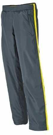 James & Nicholson Damskie spodnie sportowe Laufhosen damskie spodnie ciążowe Yellow (Iron Grey/Lemon) S