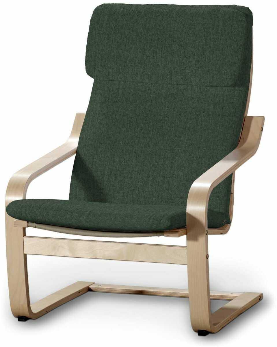 Poduszka na fotel Poäng, leśna zieleń szenil, Fotel Poäng, City