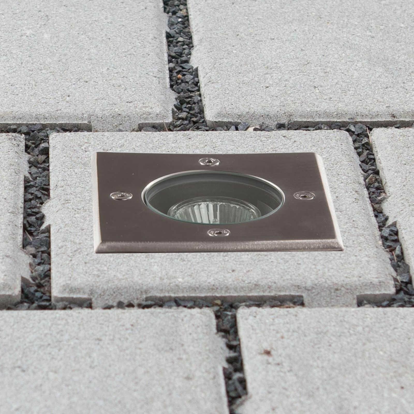 Podłogowa oprawa wpuszczana Ava IP67 GU10
