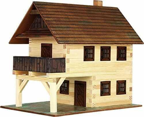 Walachia 8594036430143 - nr 14 Rathaus dom budynki drewno zestaw modelarski, ślad 1 LGB 1:32