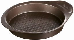 Pyrex asimetriA metalowa łatwa w trzymaniu patelnia do ciasta 26 cm, brązowa, 2