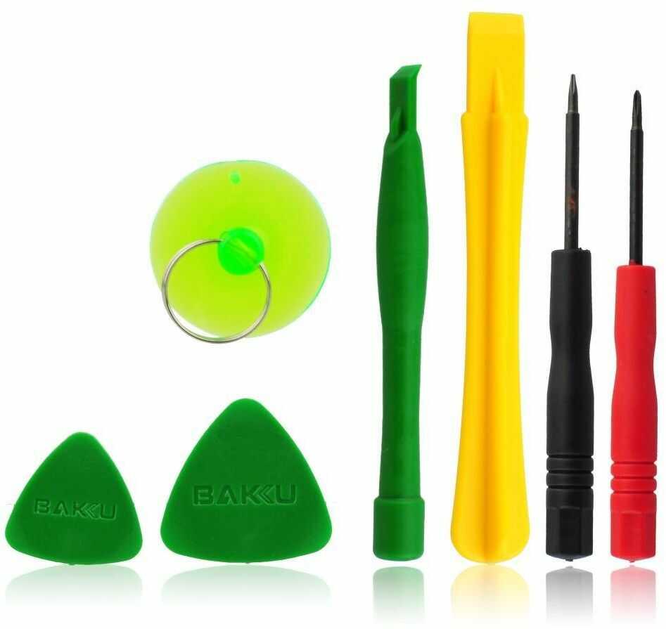 Zestaw narzędzi do telefonów komórkowych uniwersalny BAKU 7 elementów