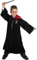 Rubie''s Oficjalna peleryna Harry Potter Gryffindor, Deluxe, dla dzieci, kostium, rozmiar L, 7-8 lat
