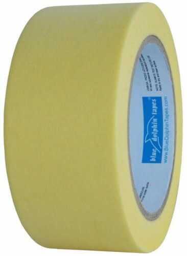 BLUE DOLPHIN taśma maskująca żółta 48mm x 50m 3dniowa