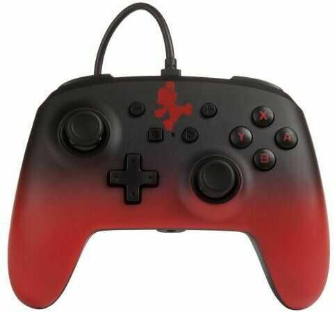 PowerA Switch Pad przewodowy Mario Fade