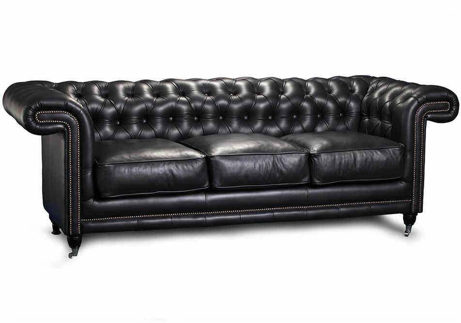 Sofa Chester Lounge 2 osobowa, skórzana