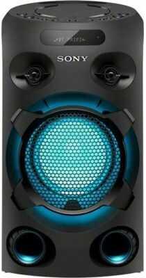 Power audio SONY MHC-V02 Czarny Dogodne raty! DARMOWY TRANSPORT! GRATIS SPOTIFY NA 3 MIESIĄCE