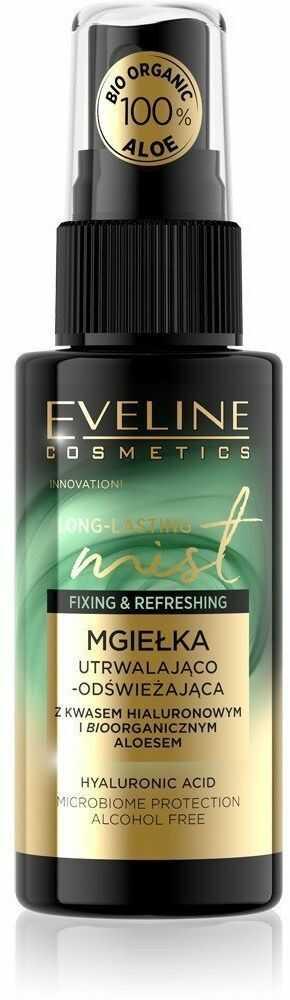 Eveline Eveline Long Lasting Mist Mgiełka nawilżająco-utrwalająca z bioaloesem do twarzy 50ml