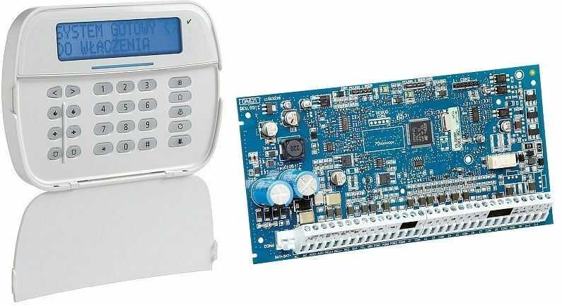 Zestaw alarmowy HS2016ECLC4POL DSC