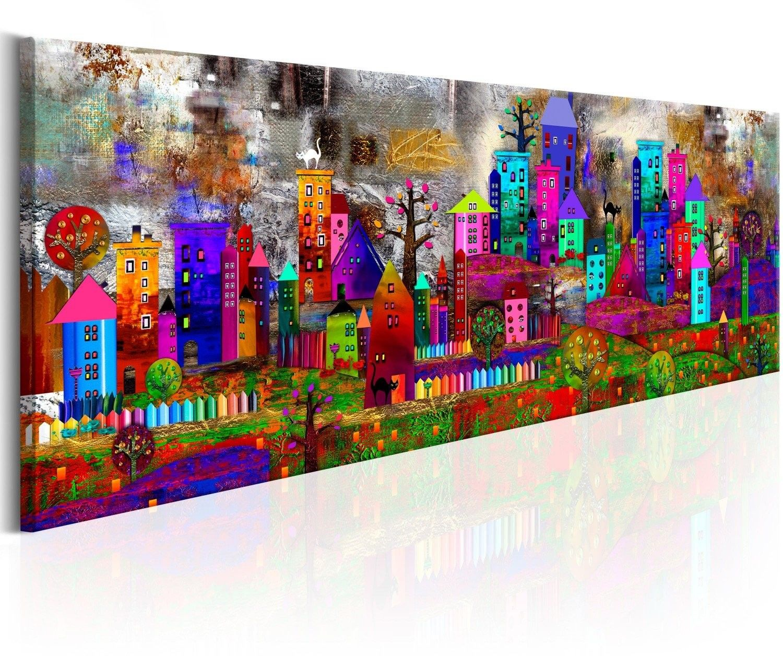 Obraz - miasto fantazji