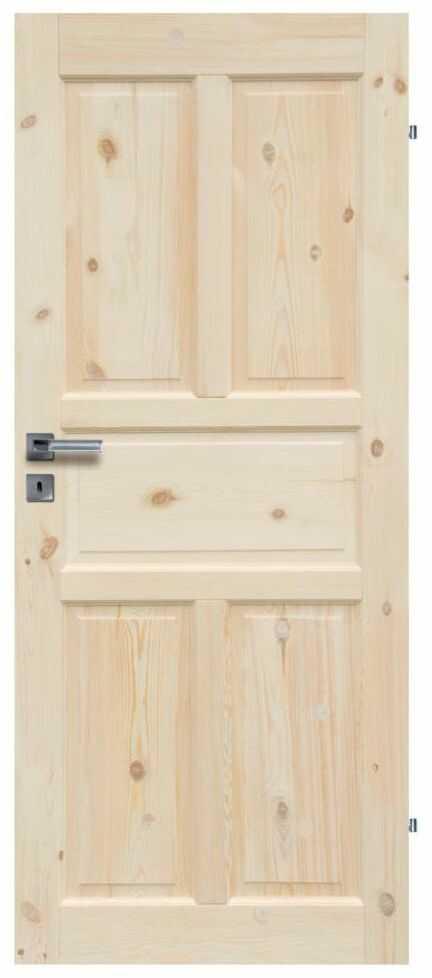 Skrzydło drzwiowe drewniane pełne Londyn Lux 70 Prawe Radex