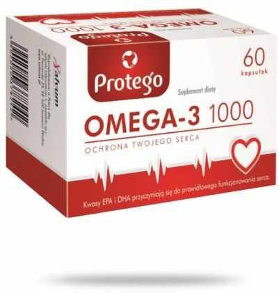 Protego Omega-3 1000 60 kapsułek