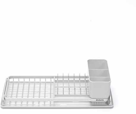Brabantia Kompaktowy ociekacz, stal, jasnoszary, 46,3 x 20 x 12,6 cm
