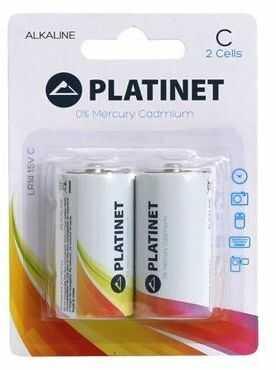 2X PLATINET BATERIA ALKALINE PRO LR14 BLISTER