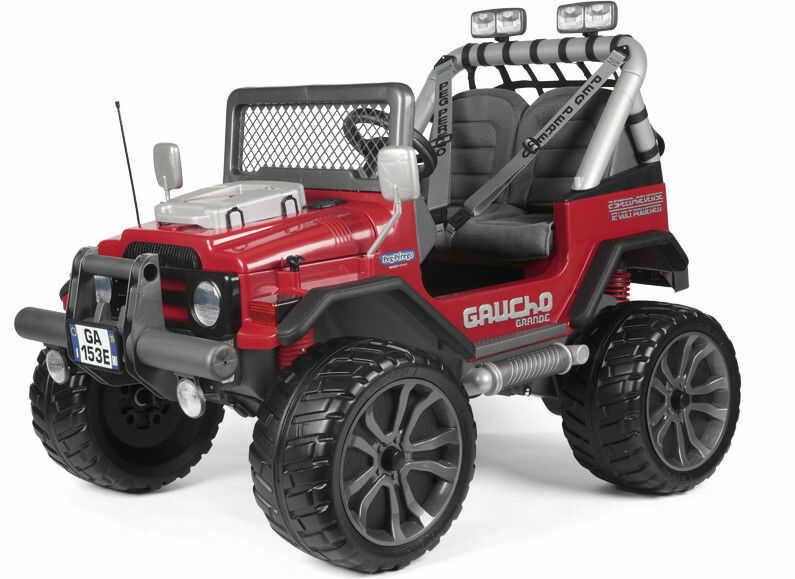 Samochód Gaucho Grande na akumulator 12V dla dzieci Peg Perego
