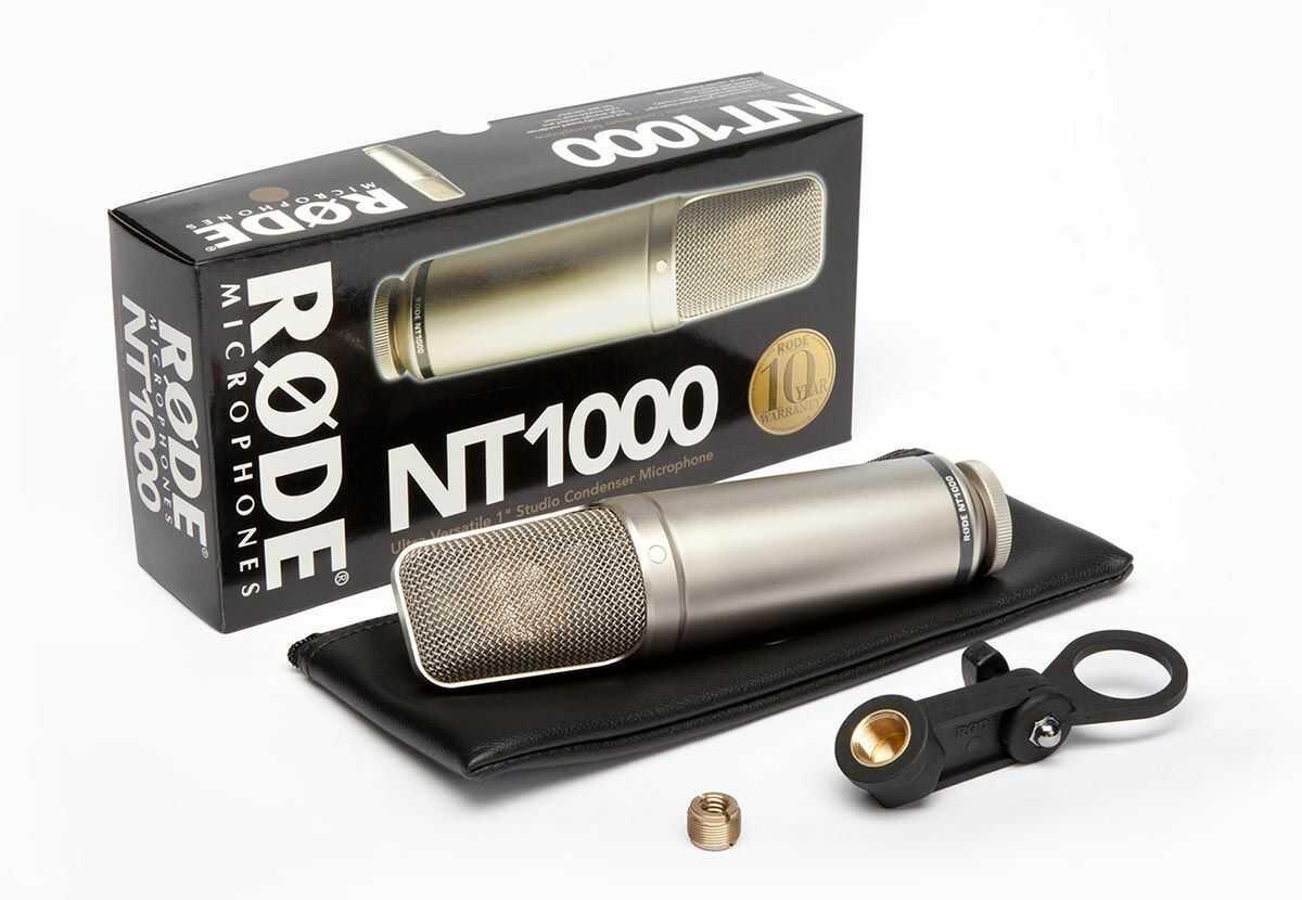 Rode NT1000 - mikrofon pojemnościowy studyjny (wokal / instrumenty) Rode NT1000 - mikrofon pojemnościowy studyjny (wokal / instrumenty)