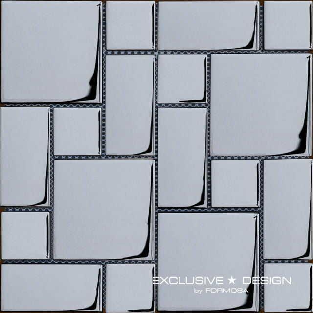 MIDAS - Mozaika szklana 6mm A-MGL06-XX-020 grafit
