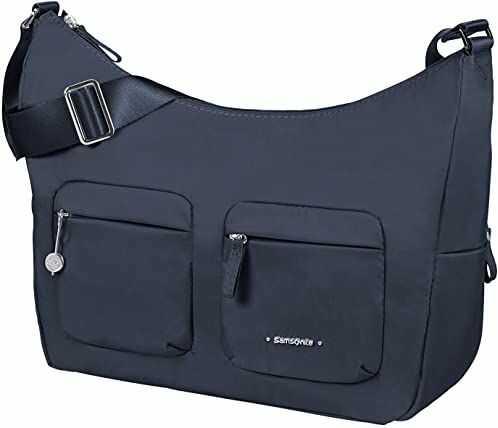 Samsonite Damska torba Move 3.0 - torba na ramię Messenger-Bags, niebieski (Dark Blue) (niebieski) - 12409012471 U