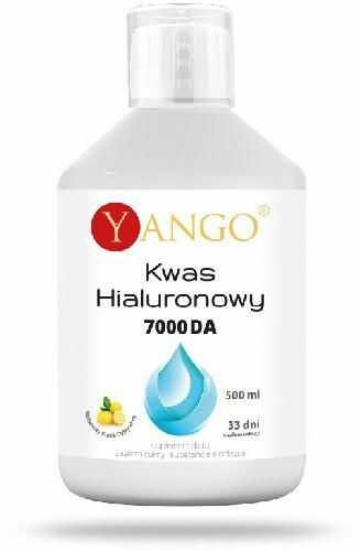 Yango Kwas hialuronowy 7000 DA 500 ml