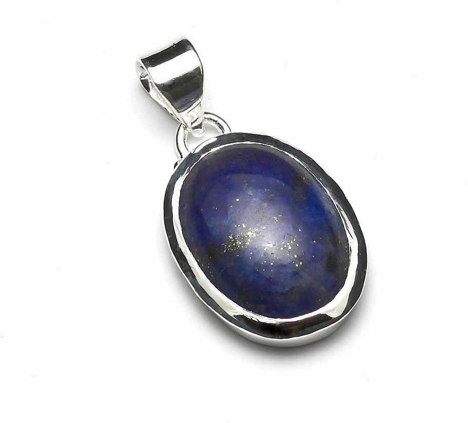 Kuźnia Srebra - Zawieszka srebrna, 33mm, Lapis Lazuli, 7g, model