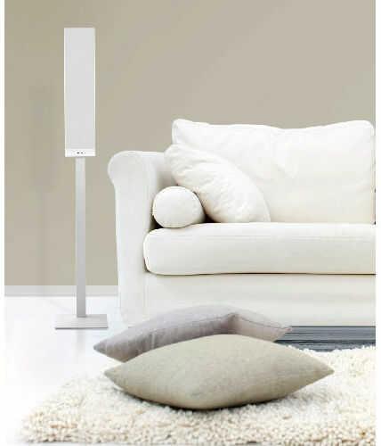 KEF T Stand Stojaki głośnikowe 1 szt. - white +9 sklepów - przyjdź przetestuj lub zamów online+