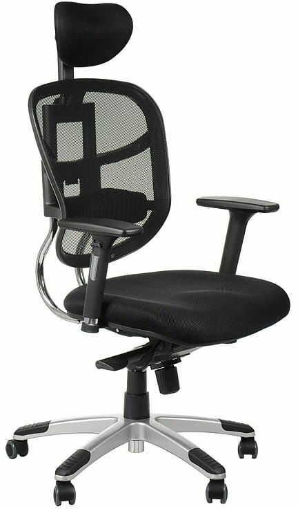 Fotel biurowy gabinetowy HN-5018/CZARNY krzesło biurowe obrotowe