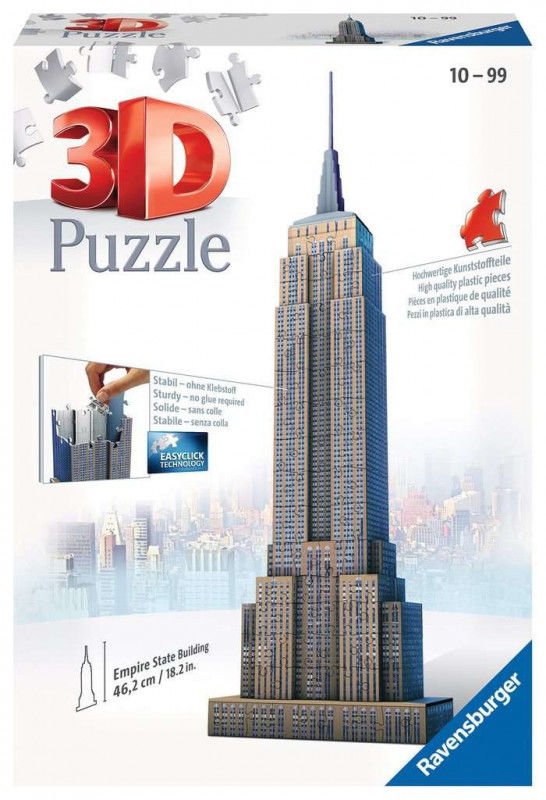 RAVENSBURGER 216el 3D EMPIRE STATE BUILDING (125531)
