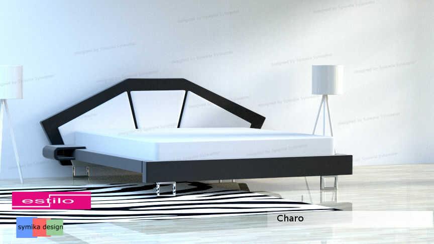 Łóżko do sypialni Charo - łóżka młodzieżowe