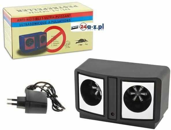 Ultradźwiękowy Odstraszacz Na Myszy, Szczury, Owady i Insekty (pod 230V) - Moc 160dB!!