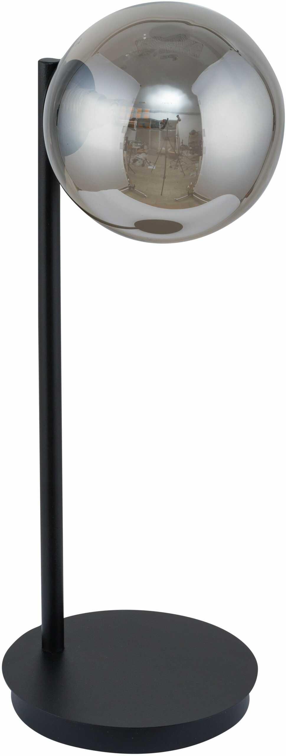 Lampka nowoczesna szklana kula Roma szara 50221 - Sigma Do -17% rabatu w koszyku i darmowa dostawa od 299zł !