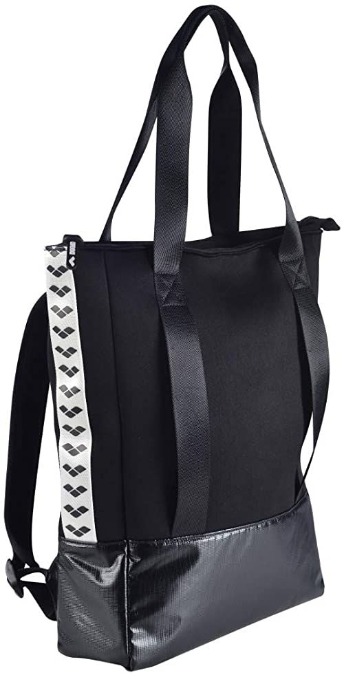 Arena Unisex  torba na ramię dla dorosłych Fast Tote czarna torba sportowa, czarna, jeden rozmiar