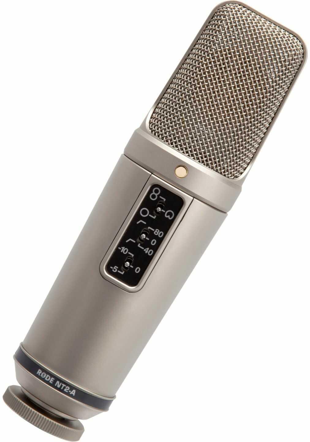 Rode NT2-A - zestaw mikrofon pojemnościowy wokalny + akcesoria Rode NT2-A - zestaw mikrofon pojemnościowy wokalny + akcesoria