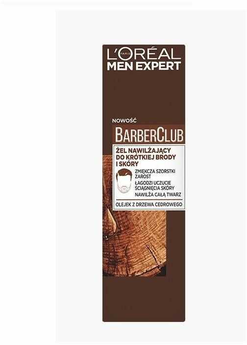 Loreal Men Expert Barber Club Żel nawilżający do krótkiej brody i skóry 50ml
