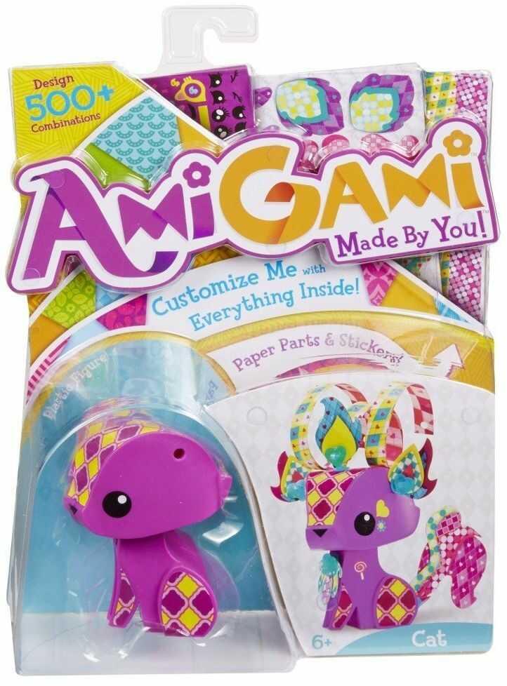 Mattel AmiGami BLV26 - figurka mini - kot