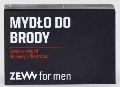 Zew for Men Mydło do Brody z węglem drzewnym