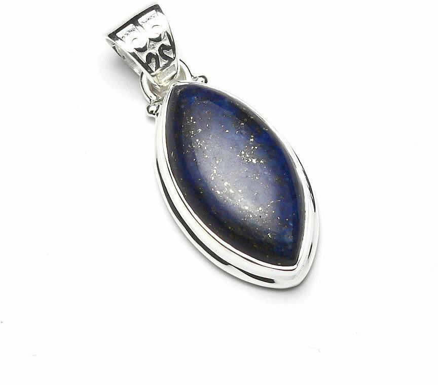 Kuźnia Srebra - Zawieszka srebrna, 35mm, Lapis Lazuli, 6g, model