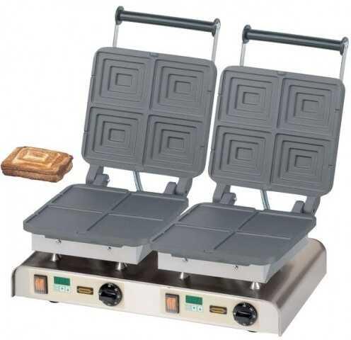 Gofrownica podwójna Sandwich 400V / 4,4kW