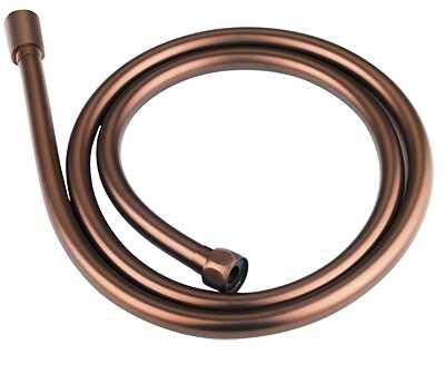 Omnires wąż prysznicowy bezskrętny 150cm miedź antyczna 028ORB