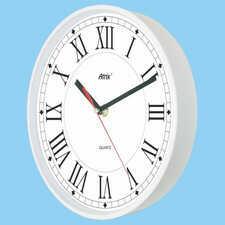 Zegar biały sterowany radiowo #4