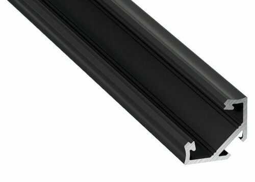 PROFIL typ C czarny anodowany narożny 1 metr