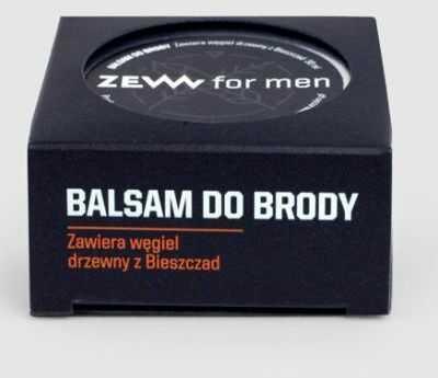 Zew for Men Balsam do Brody z węglem drzewnym 30ml