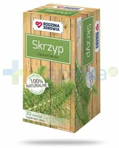 Rodzina Zdrowia Skrzyp 1800mg zioła do zaparzania 30 saszetek