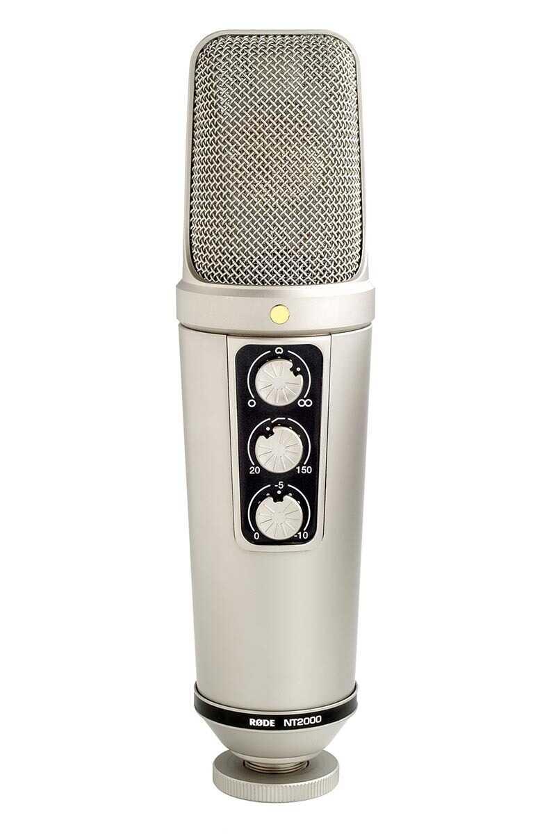 Rode NT2000 - mikrofon pojemnościowy Rode NT2000 - mikrofon pojemnościowy